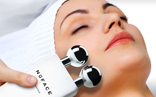 Microcurrent Facial from Salon One.